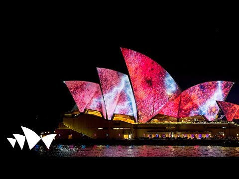 Sydney Opera House: Lighting The Sails - 59 Productions - Vivid LIVE 2014