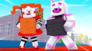 Circus Baby and Funtime Freddy are Bridge Masters ?! | Minecraft FNAF Roleplay