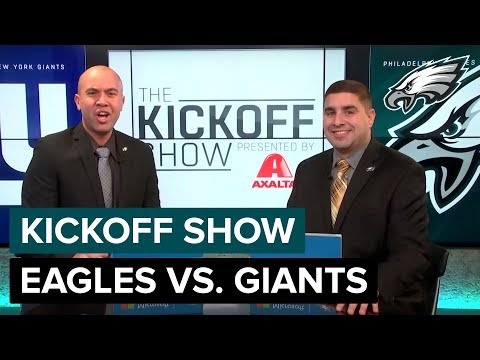 The Kickoff Show: Philadelphia Eagles vs. New York Giants | 2018 Week 12