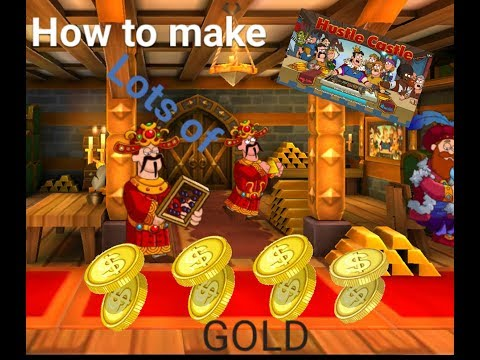 How To Farm For  Gold In Hustle Castle