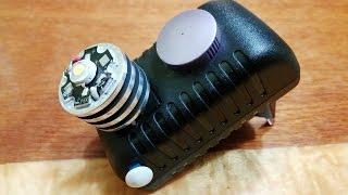 Самодельный светодиодный  фонарик светильник 3W(Самодельный фонарик-светильник. Ссылка на плату контроля заряда LiIon батарей http://ru.aliexpress.com/item/1Pcs-5V-18650-Lithium-Batt..., 2015-02-11T18:56:19.000Z)