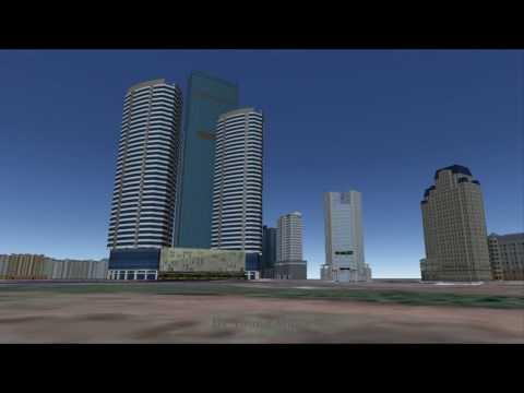 Vietnam Skyline - Hanoi ft. Saigon (3D mô phỏng chọn lọc)