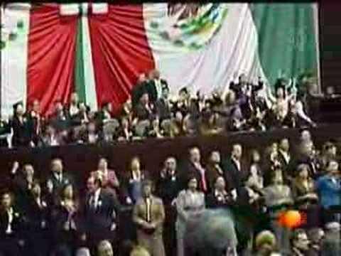 Crónica de la toma de posesión de Felipe Calderón