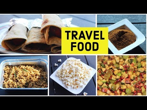 EASY TRAVEL FOOD IDEAS /PICNIC FOOD RECIPES