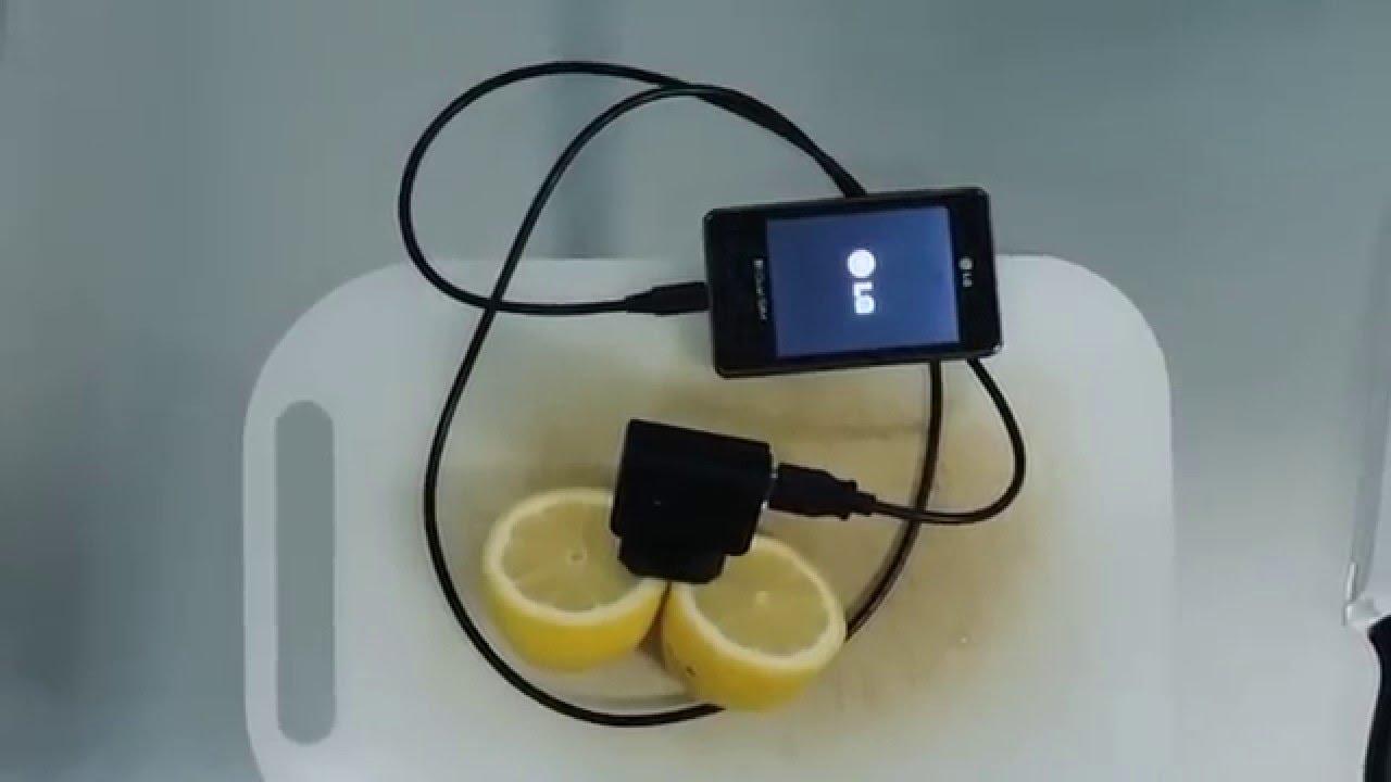 Lemon Phone Charger Viral Video Uk Youtube
