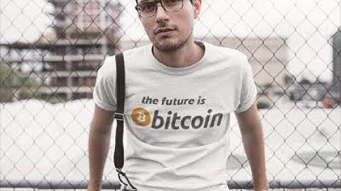 Bitcoin T Shirts - The Future Is Bitcoin