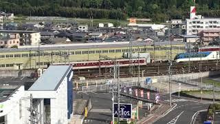 近鉄大阪線 名張駅 しまかぜ留置