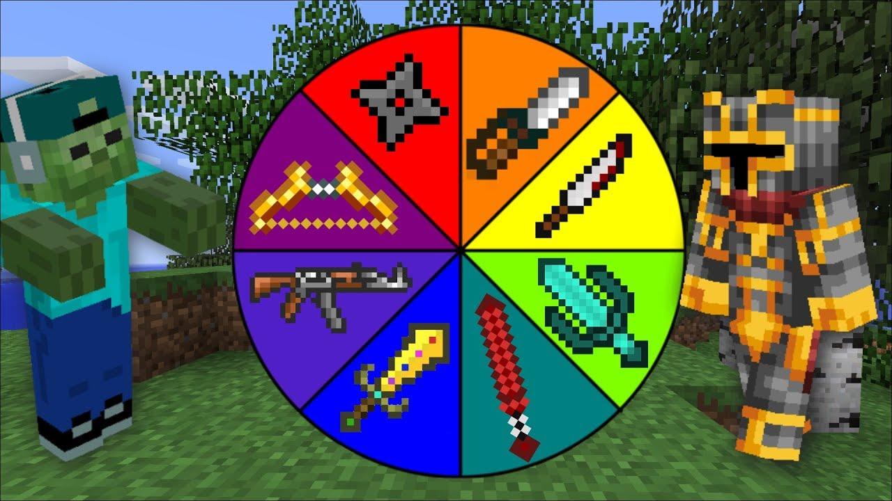 Minecraft DANGEROUS PRANK WHEEL OF FORTUNE AGAINST OUR ZOMBIE !! PRANK WARS !! Minecraft