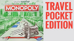 MONOPOLY travel version unboxing - German Editon Galeria Kaufhof