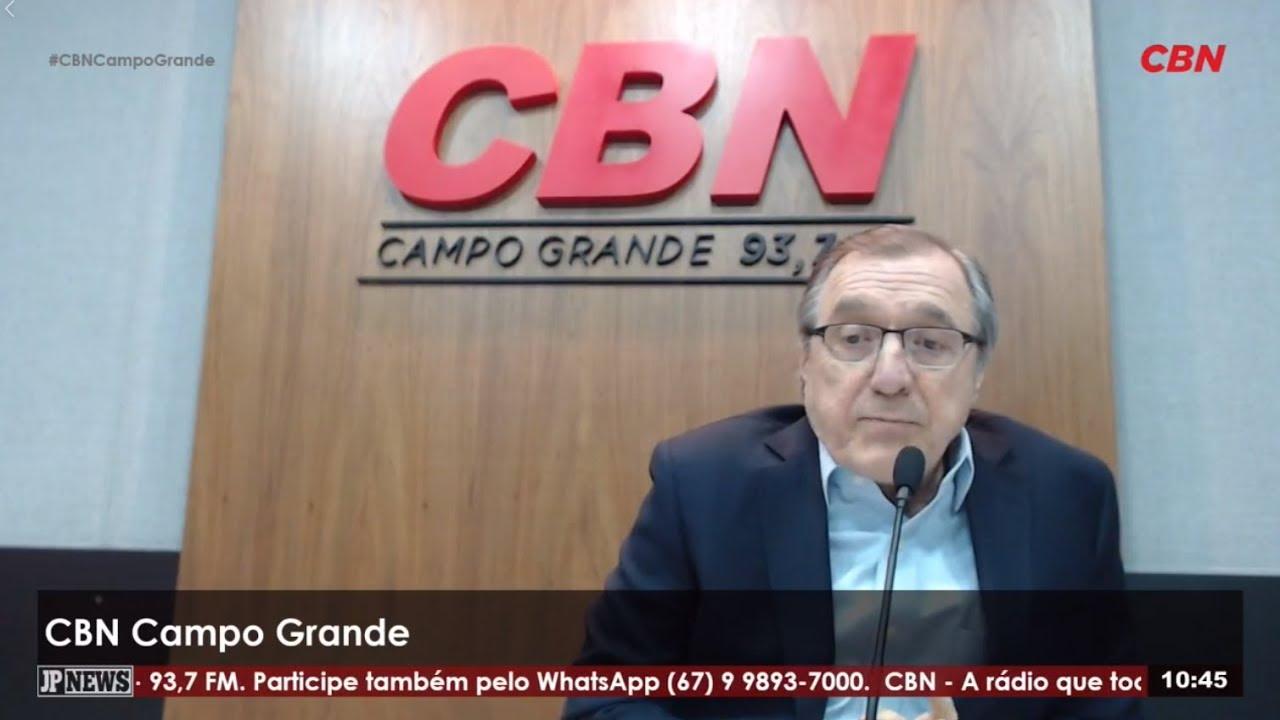 Entrevista CBN Campo Grande: Carlos Alberto Sardenberg