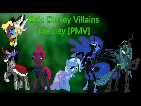 Epic Disney Villains Medley [PMV]