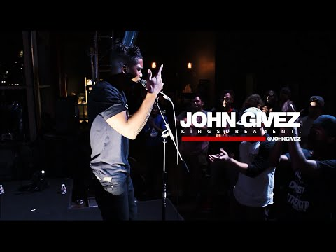 John Givez Performs Westside Blues Live at Guerilla Cross [@GuerillaCross @JohnGivez]