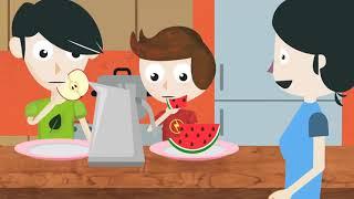 Selección Saludable De Alimentos Presentado Por Puros Cuentos Saludables Youtube