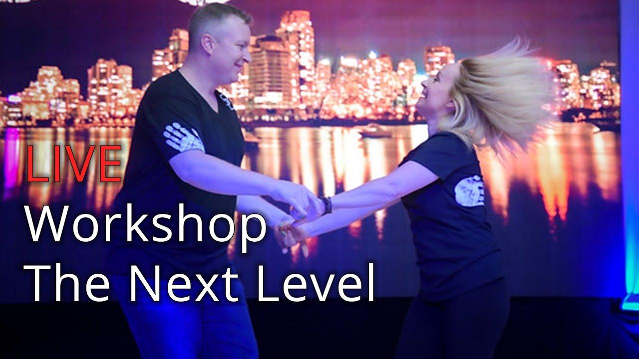 FREE West Coast Swing Workshop with Kyle Redd & Sarah Vann Drake - The Next Level (4/4)