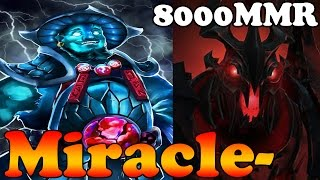 Dota 2 - Miracle- 8000MMR Plays Shadow Fiend and Storm Spirit - Ranked Match Gameplay