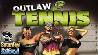 Jiggle Physics in Hell | Outlaw Tennis (PS2) 2 Player VS | Saturday Saltbowl