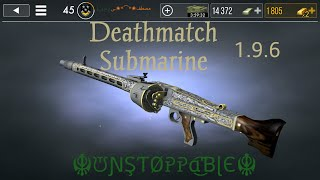 Deathmatch in submarine map mg42 support armor the new update 1.9.6 world war heros