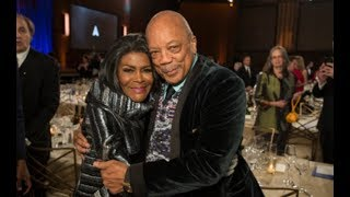 Quincy Jones honors Cicely Tyson at the 2018 Governors Awards