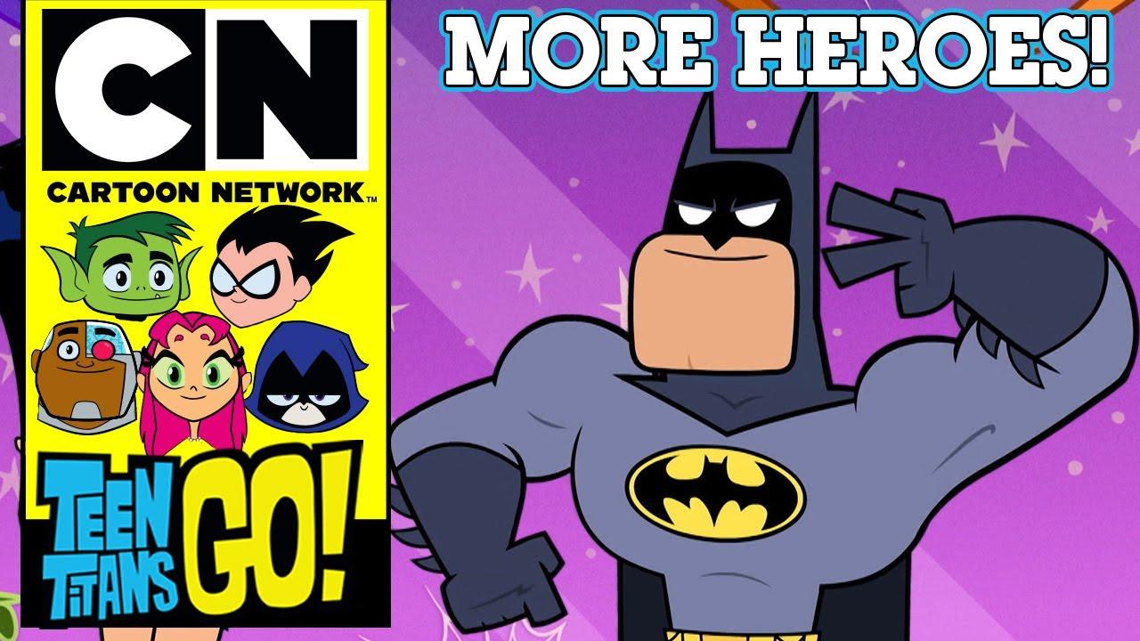 Teen Titans Go! | More Heroes! | Cartoon Network UK 🇬🇧