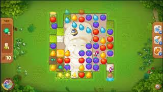 Gardenscapes Level 489 No Booster 🌲  l MiniGames