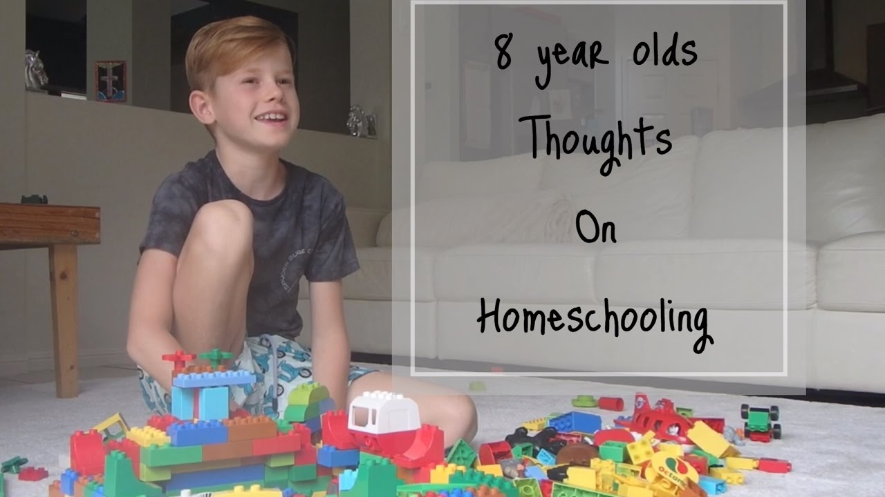 AN 8 YEAR OLDS THOUGHTS ON HOMESCHOOLING - YouTube