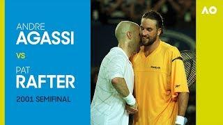 AO Classics: Andre Agassi v Pat Rafter (2001 SF)