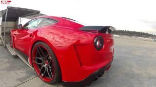 Novitec Ferrari F12 N-Largo revs sound 781 PS sport auto test widebody F12 Berlinetta