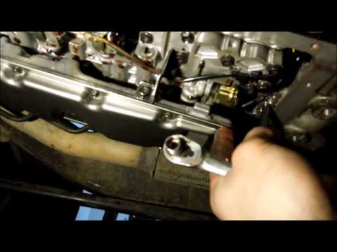 HOW TO CHANGE TRANSMISSION FLUID AND FILTER MITSUBISHI CHALLENGER