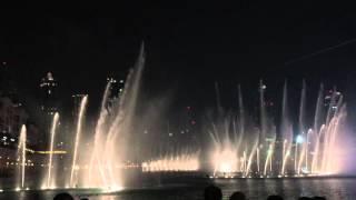 Burj Khalifa dancing fountain -  Elissa Abaly habibi