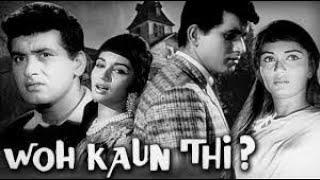 WOH KAUN THI    HD   FULL HINDI MOVIE   MANOJ KUMAR   SADHANA   HELEN   PREM CHOPRA ( 1964 )