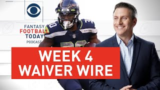 Week 4 WAIVER WIRE Pickups + Who To DROP? | 2020 Fantasy Football