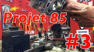 PROJET 85 #3 : AVOIR UNE 85 (neuve) PAS CHER / DÉMONTAGE DU MOTEUR DE 85
