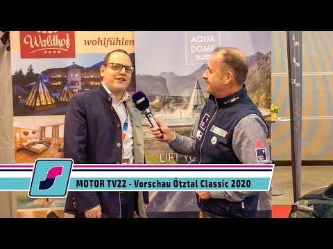 MOTOR TV22 - Die Ötztal Classic 2020 auf der Retro Classics in Stuttgart