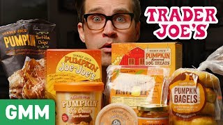 Trader Joe's Pumpkin Spice Taste Test