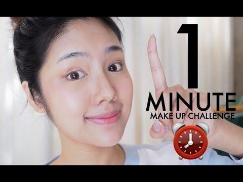 แต่งหน้า1นาที 1Minute Makeup Challenge | Archita Station