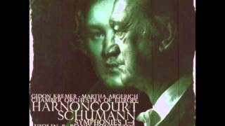 Schumann: Violin Concerto in D minor - Gidon Kremer (Live recording)