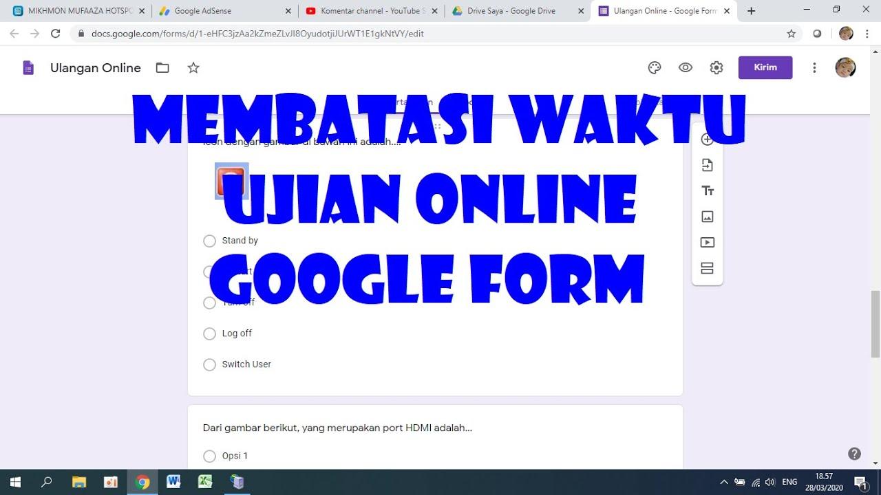 Bagaimana Cara Membuka Google Form Yang Sudah Ditutup Arial Viral