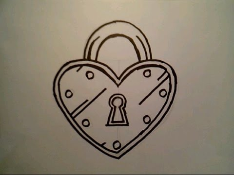 lock and key drawing. Contemporary And YouTube Premium Intended Lock And Key Drawing A
