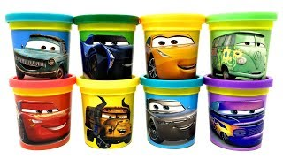 Cars 3 Animation Play-doh Surprise Toys Rusty Rust-eze Filmore Miss Fritter