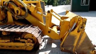 1991 John Deere 455G track loader with back hoe  LOW HOURS C&C Equipment 812-336-2894 ccsurplus.com