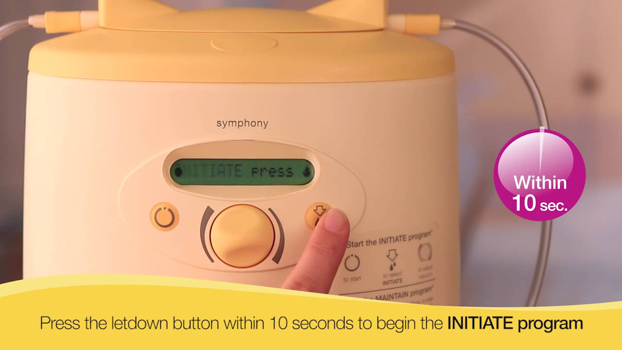 medela breast pump instructions video