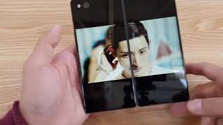 ZTE Axon M Hands On Foldable Phone!