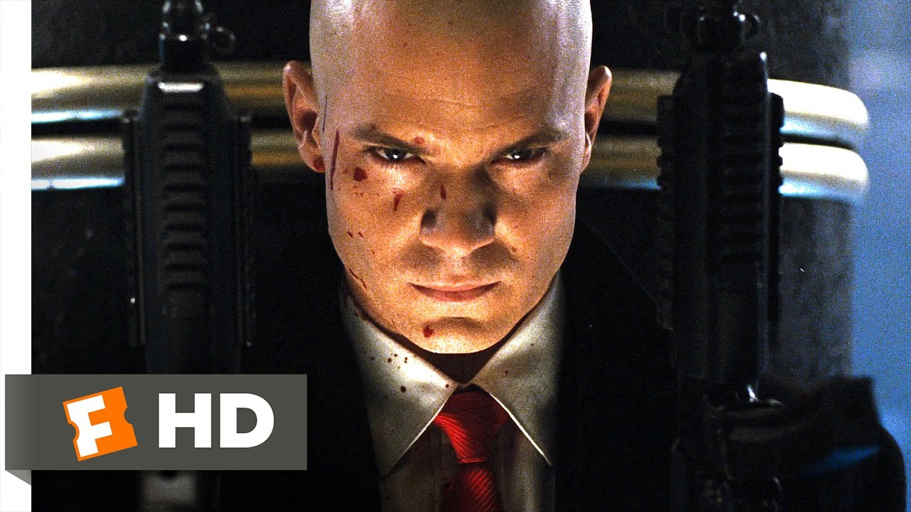 Hitman 4 5 Movie Clip Barrage Of Bullets 2007 Hd Youtube