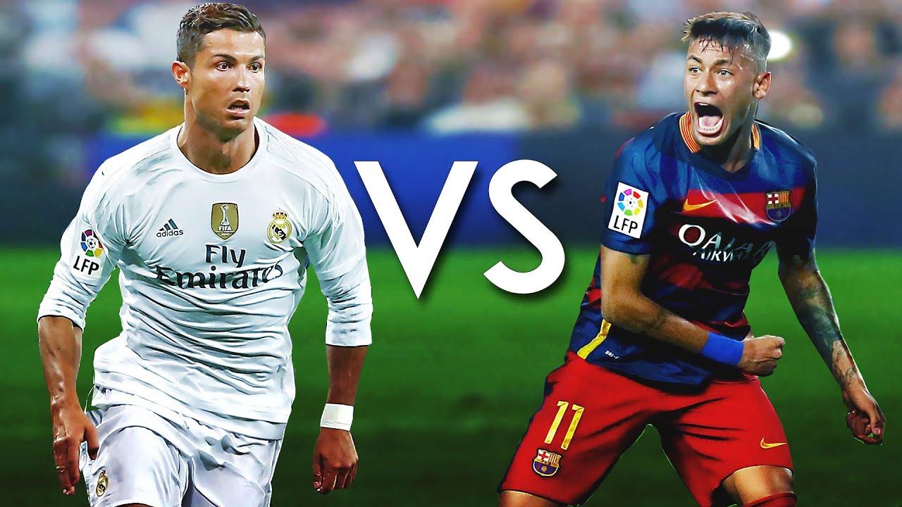 Cristiano Ronaldo vs Neymar JR Skills & Goals / Dribles ...