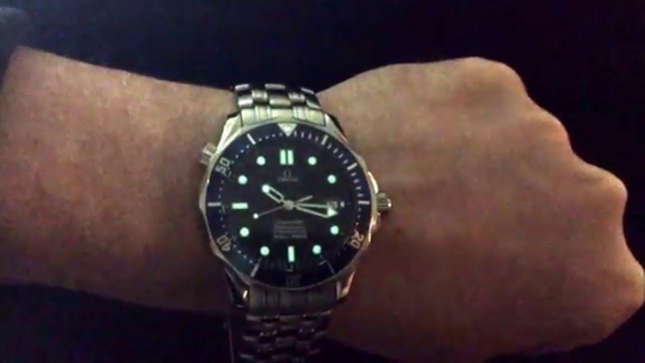 omega seamaster professional 253180 automatic 300m youtube