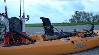 Flooded Rainwater Marsh / Kayak Fishing Texas