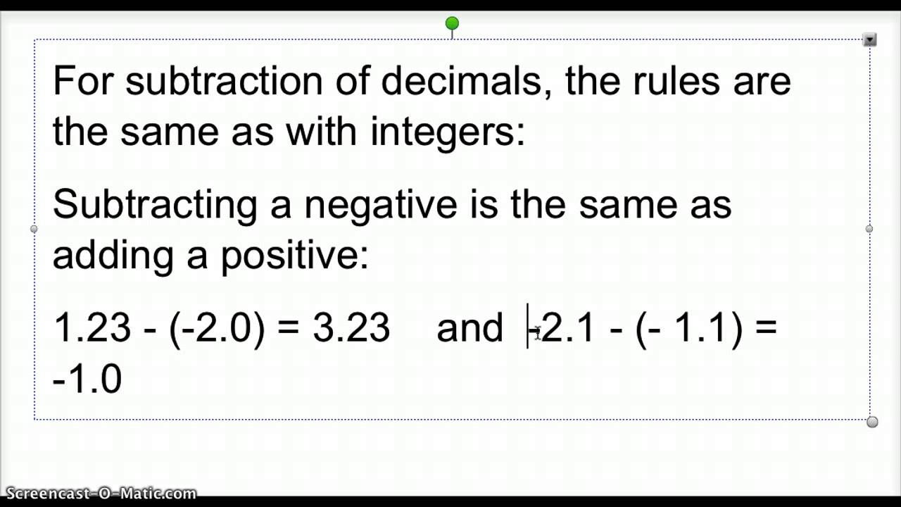 worksheet Subtracting Rational Numbers adding and subtracting rational numbers 0 4 youtube 4
