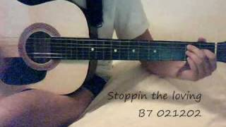 Stoppin the Love KT Tunstall guitar lesson chords tabs lyrics