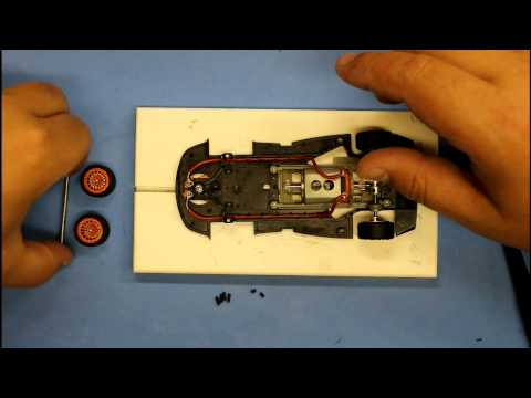ASCC – Slot.it slot car setup : Part #6 – Front axle height adjustment