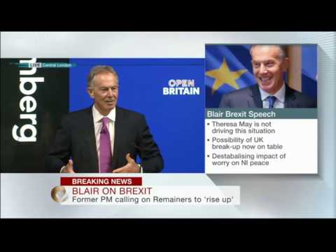 Tony Blair: Britain must be allowed to think again about Brexit